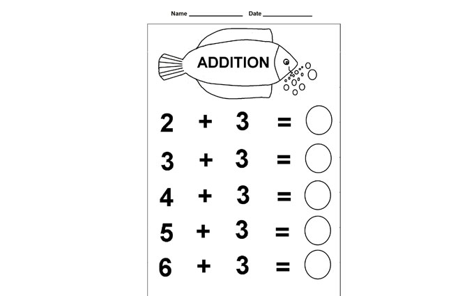 addition worksheets