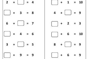 long addition worksheets ks1
