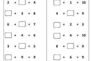{Download PDF*} – Free Printable Math Addition Worksheets for Kids