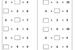 printable long addition worksheets