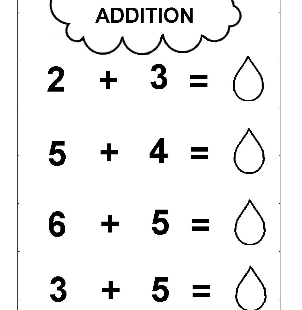 Free Printable Simple Addition Worksheets for Kids {PDF ...