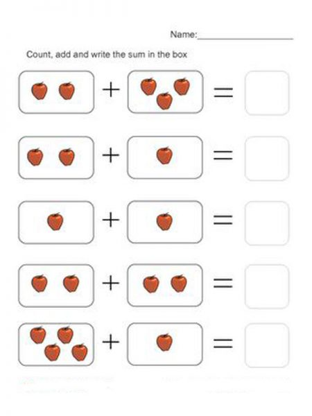 Download Printable Touch Math Addition Worksheets For
