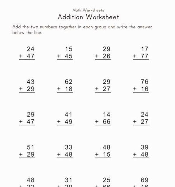 Math worksheets pdf download