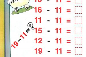 Math Worksheets Subtraction 6