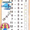 Subtraction Worksheets for 1st Grade 3