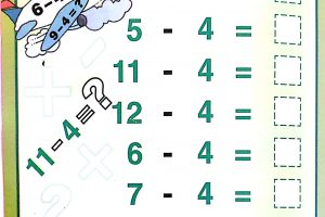 first grade subtraction worksheets