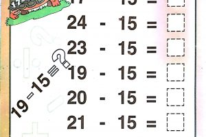 easy subtraction worksheets