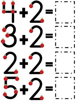 simple one digit addition worksheets 1