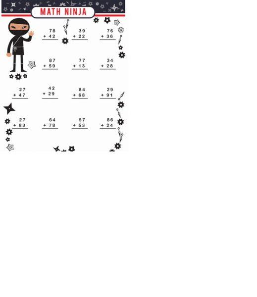 2nd grade math worksheets addition 1