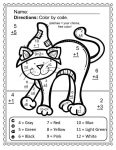 Addition Coloring Pages Halloween 4
