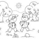 Coloring Worksheets for Kindergarten 4