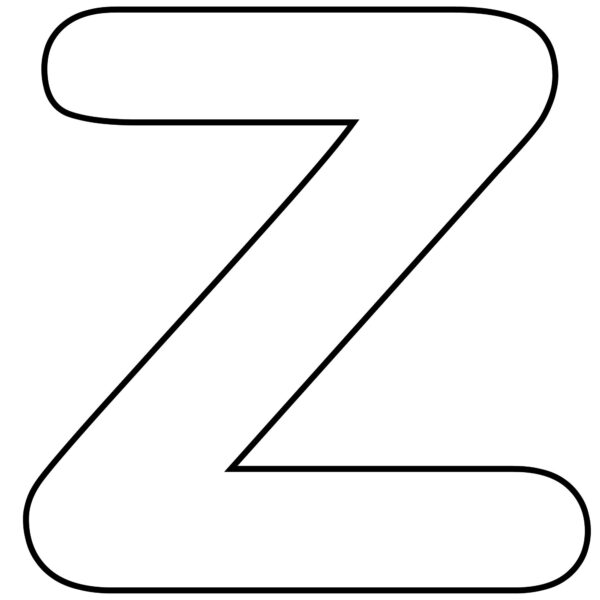 Letter Z Worksheets 1