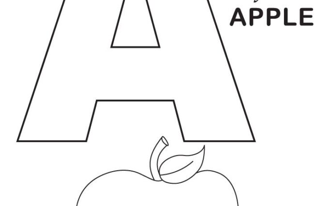 Coloring Worksheets Alphabet 2