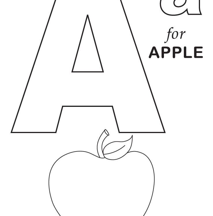 Coloring Worksheets Alphabet 3