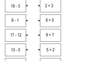 Math Addition Subtraction Worksheets 6