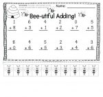 missing numbers addition worksheets 4