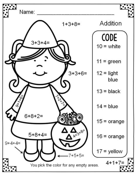 This is a graphic of Dashing Printable Addition Worksheets Coloring