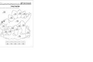 4 digit subtraction coloring worksheets 5