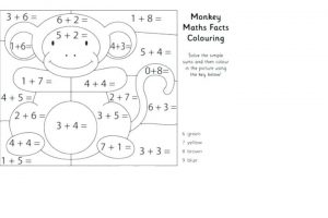free addition worksheets with coloring 5