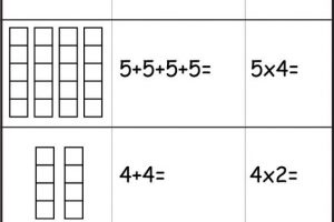 repeated-addition-worksheets