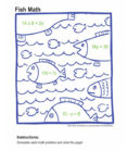 Math Coloring Pages Algebra 4