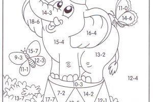 math worksheet 5