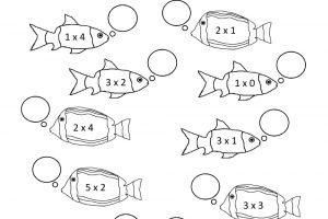 multiplication coloring worksheets grade 3 pdf