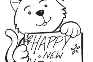 Printable-Coloring-Sheets-For-New-Year-2018