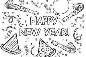 happy-new-year-coloring-pages-black-white-sheets-2019-for-kids