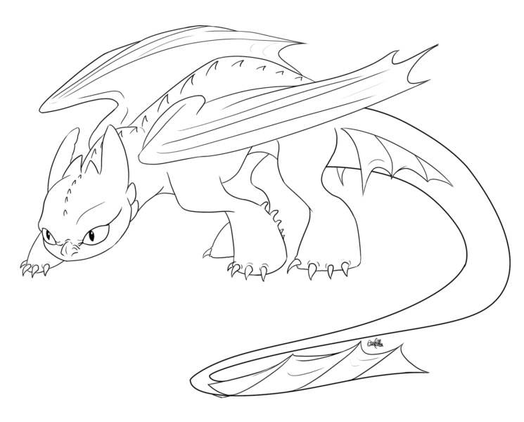 creeping toothles coloring pages