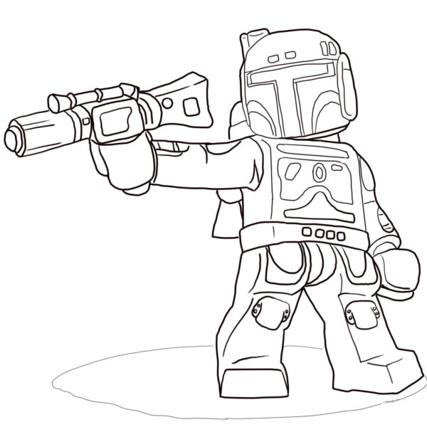 Lego Star Wars Coloring Pages Worksheet School