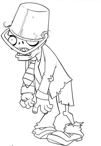 plant vs zombies printable coloring pages