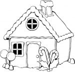 sweet house coloring pages