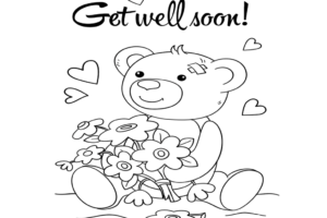 Get Well Coloring Pages