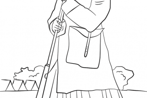 harriet tubman coloring pages