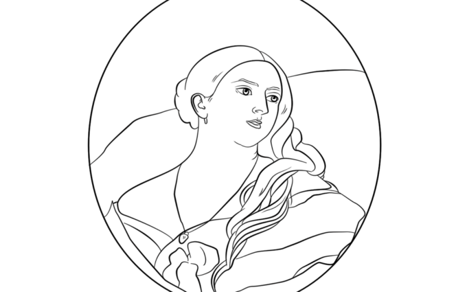 queen victoria coloring pages