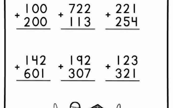 3 Digit Addition Worksheets 2