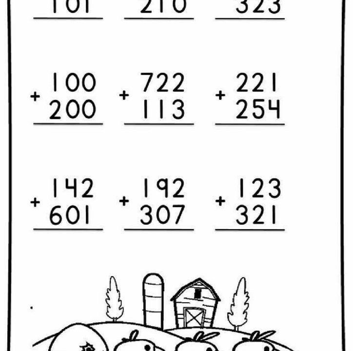 3 Digit Addition Worksheets 4