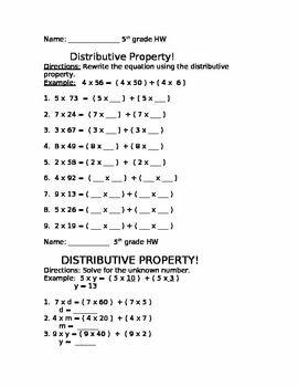 Distributive Property 2
