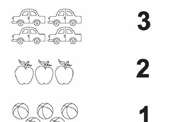 Count And Match Number Worksheets 2