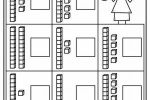 Math Kindergarten Worksheets 4