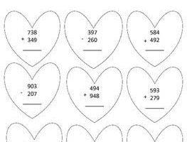 Valentine Day Math 2