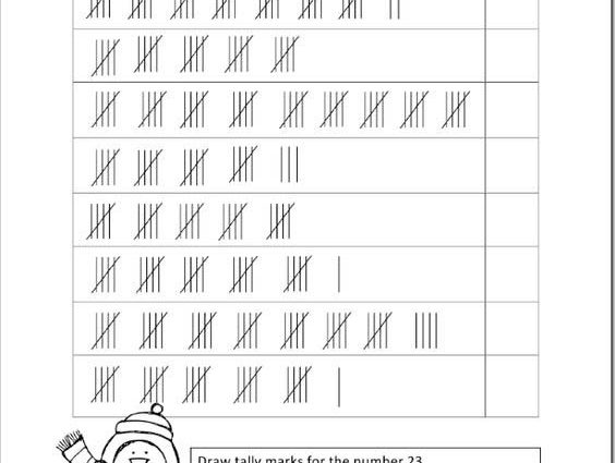 Counting Tally Marks 2