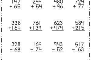 Subtraction - Regrouping 7