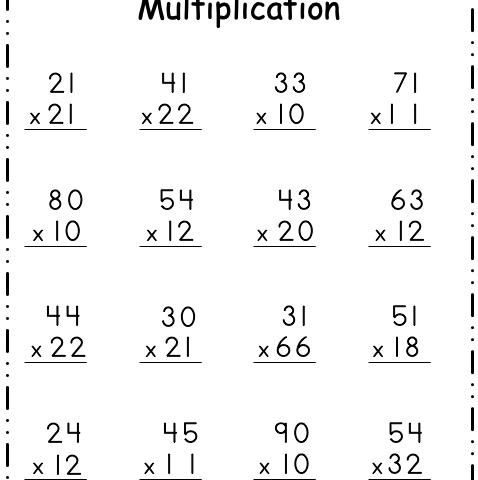 2-Digit Multiplication 3