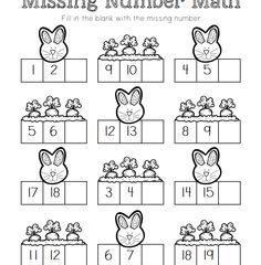Missing Number Math 4