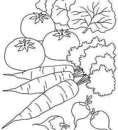 Vegetables Worksheets 2