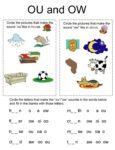 OA and OW Worksheets 4